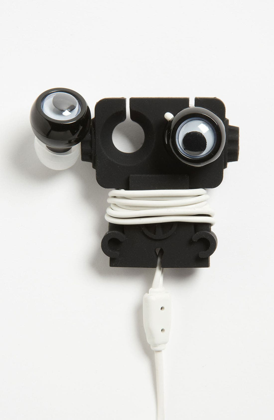 Main Image - Kikkerland Design 'Robo Buddy' Earbuds & Cord Wrap