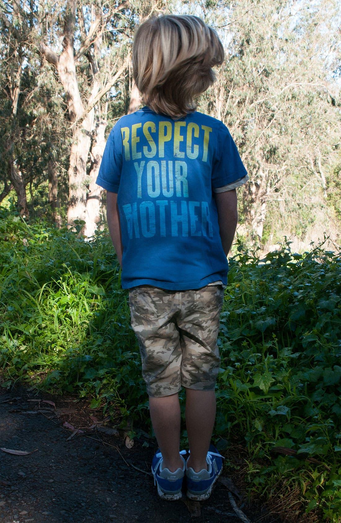 Alternate Image 3  - Peek 'Respect Your Mother' T-Shirt (Toddler, Little Boys & Big Boys)