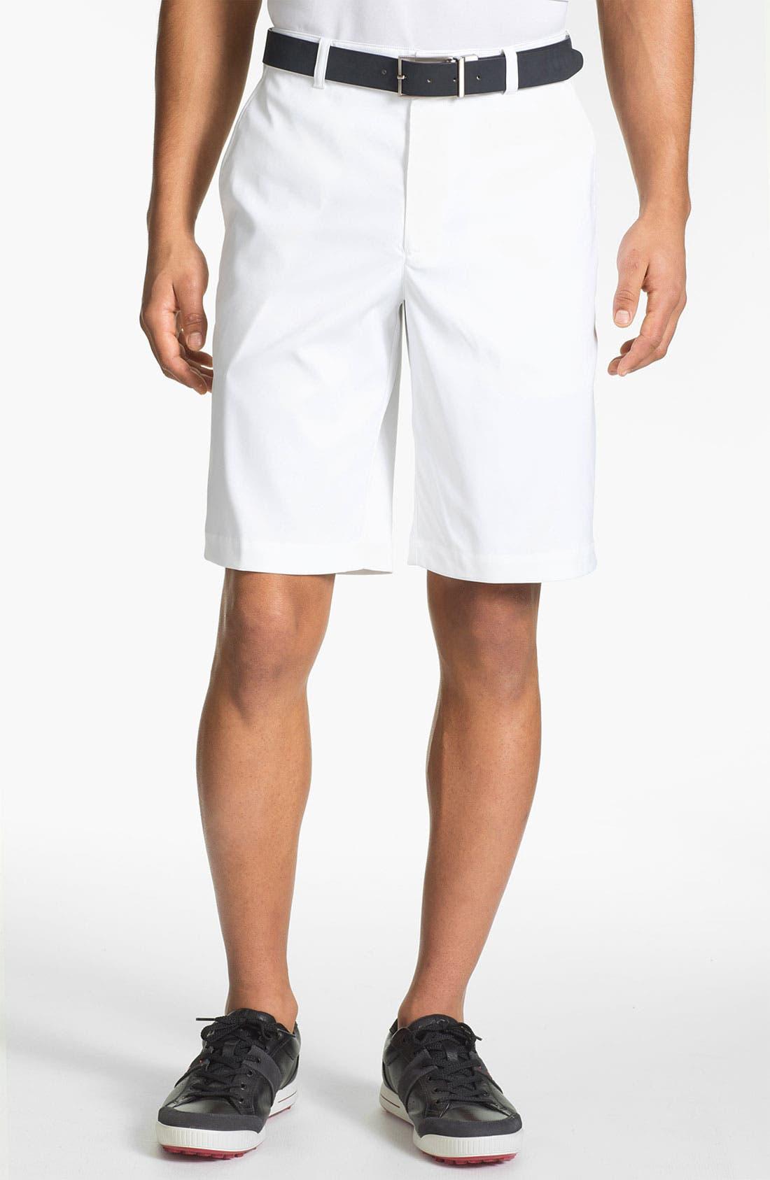 Alternate Image 1 Selected - Nike Golf Flat Front Shorts