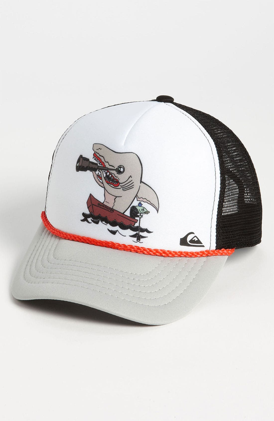 Alternate Image 1 Selected - Quiksilver 'Terg Ferg' Trucker Hat (Boys)