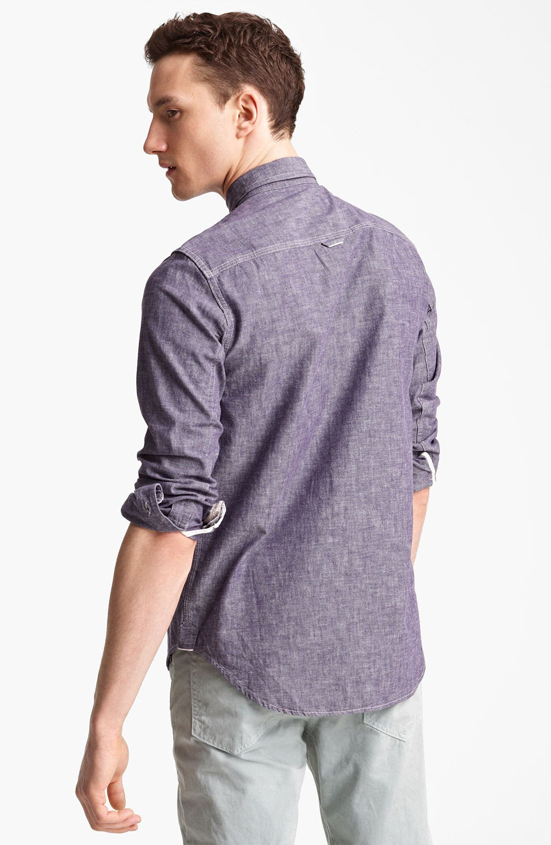 Alternate Image 2  - rag & bone 'Grange' Chambray Shirt