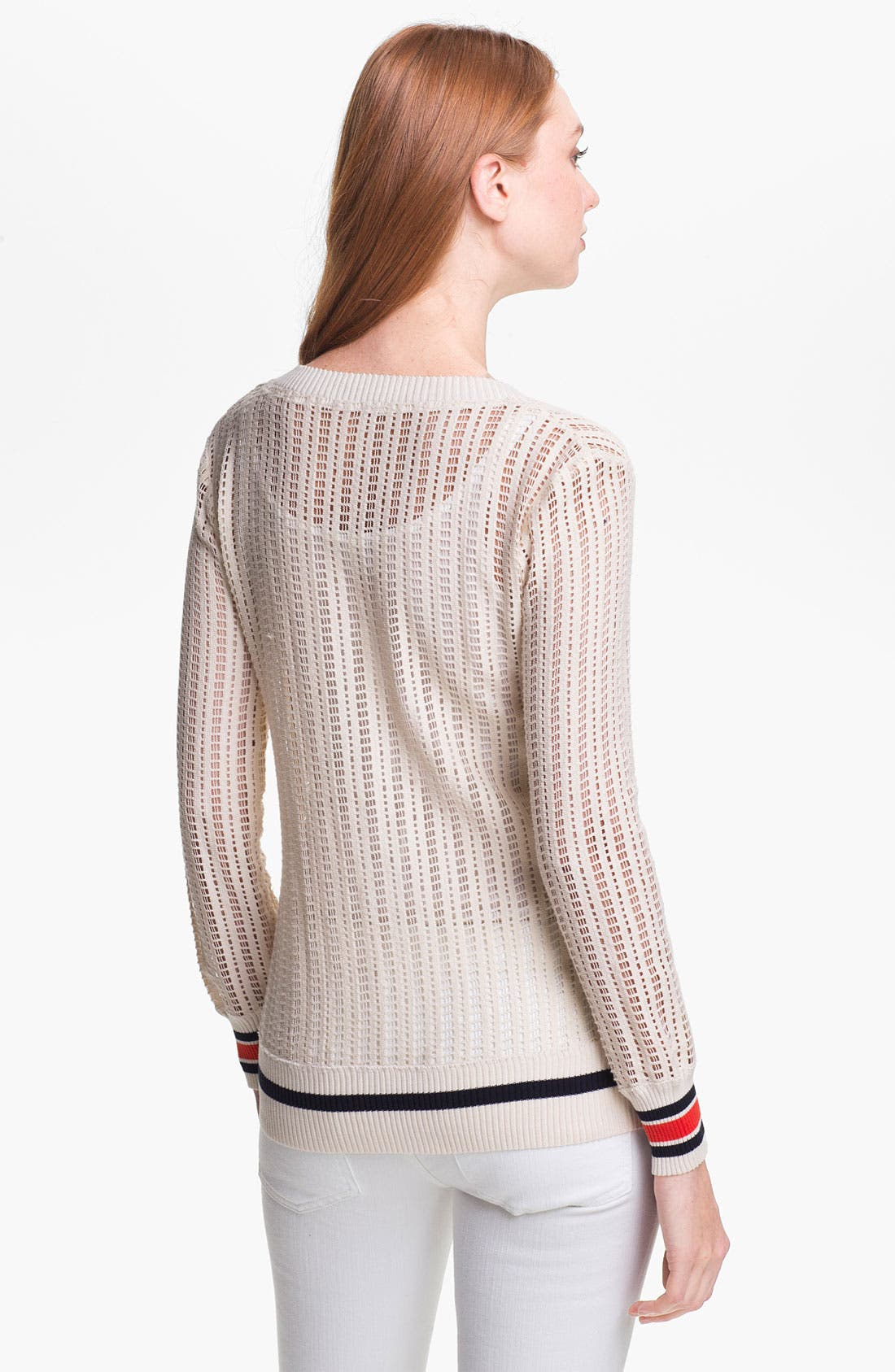 Alternate Image 2  - Tory Burch 'Ozzy' Open Sweater