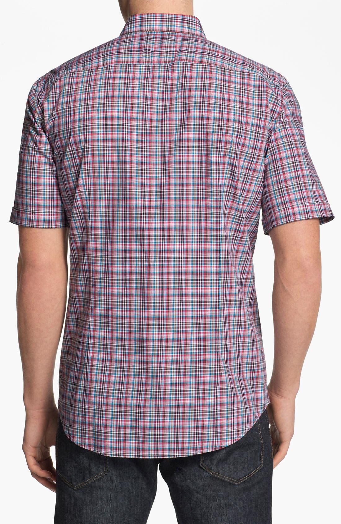 Alternate Image 2  - BOSS HUGO BOSS 'Ring 2' Slim Fit Short Sleeve Sport Shirt