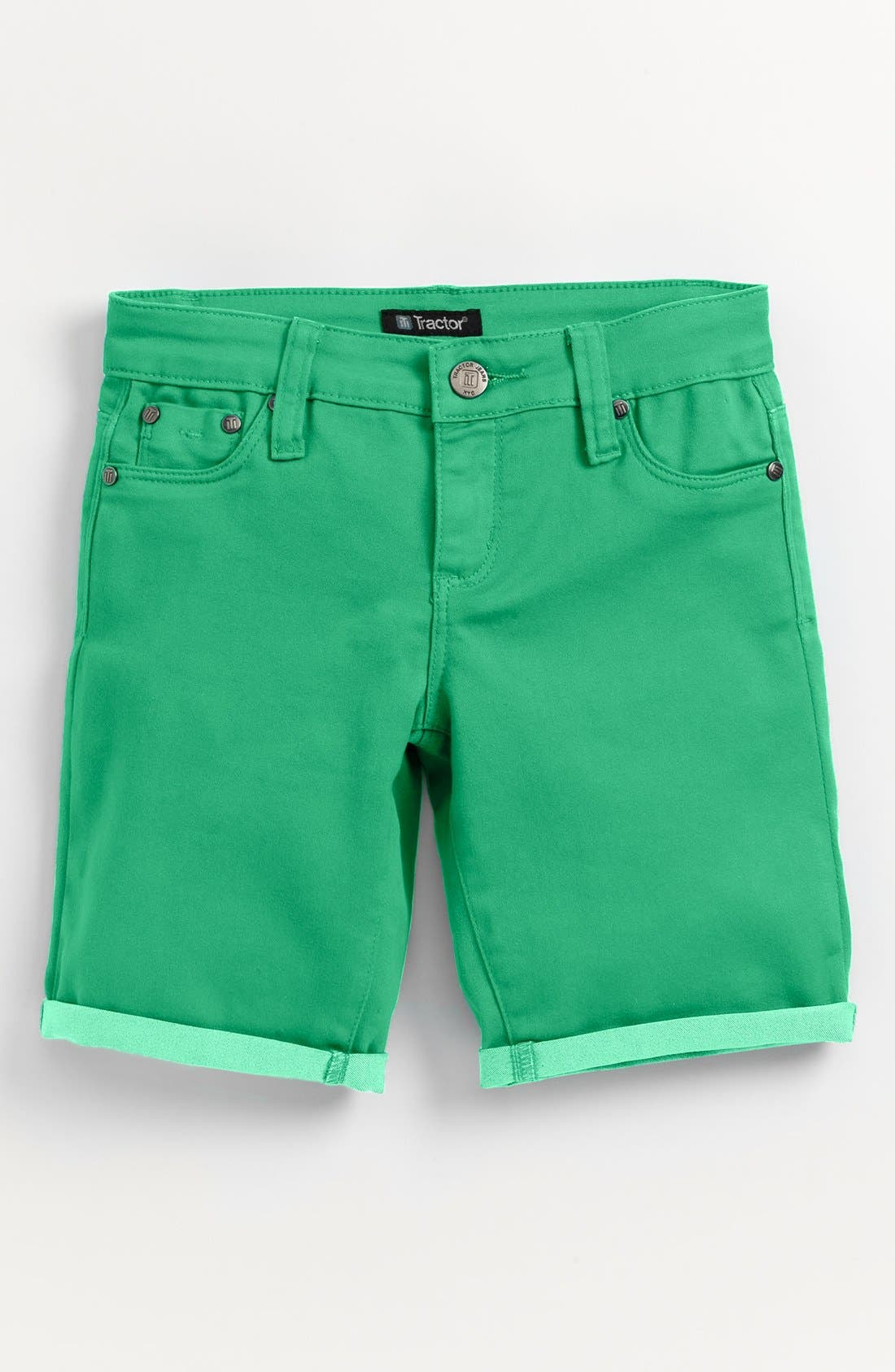 Main Image - Tractr Bermuda Shorts (Little Girls & Big Girls)