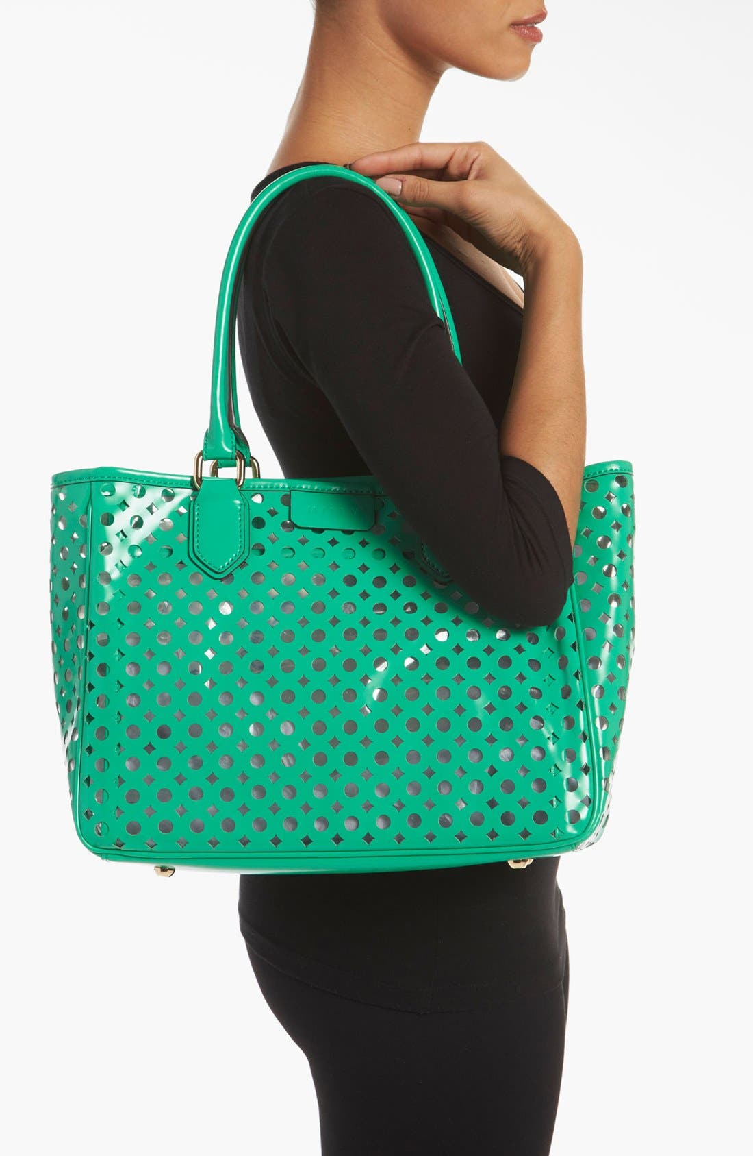 Alternate Image 2  - Milly 'Addison' Patent Leather Tote