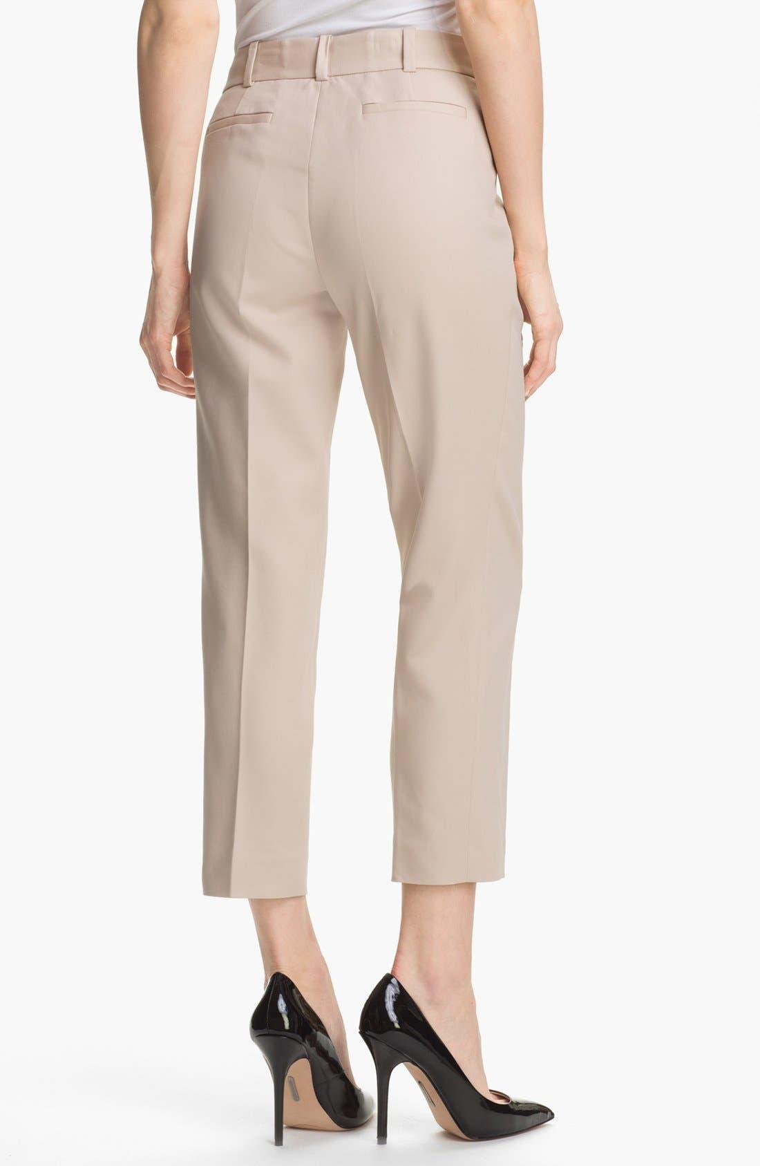 Alternate Image 3  - Anne Klein Slim Leg Pants