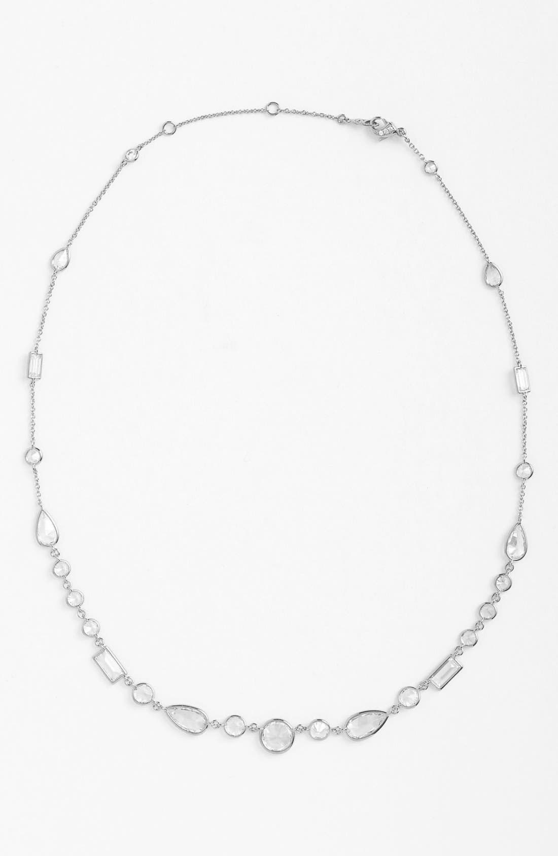 Main Image - Nadri Mixed Cut Cubic Zirconia Necklace (Nordstrom Exclusive)