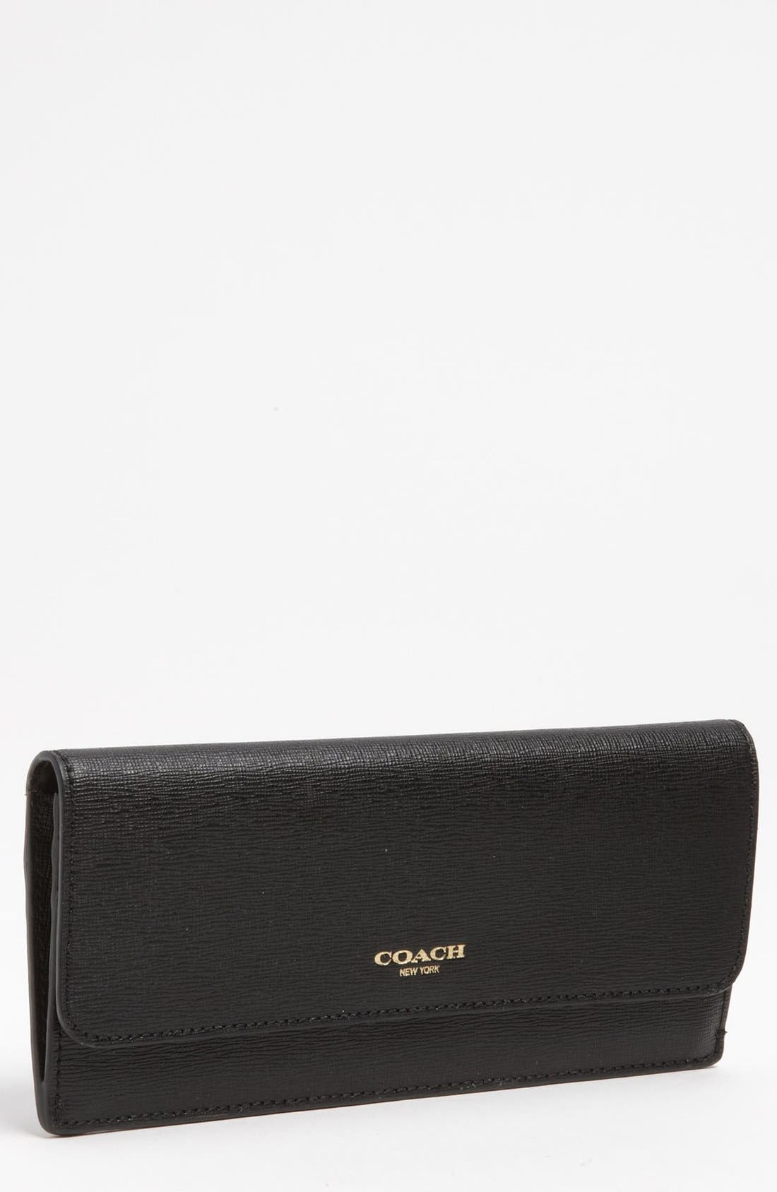 Alternate Image 1 Selected - COACH Leather Wallet