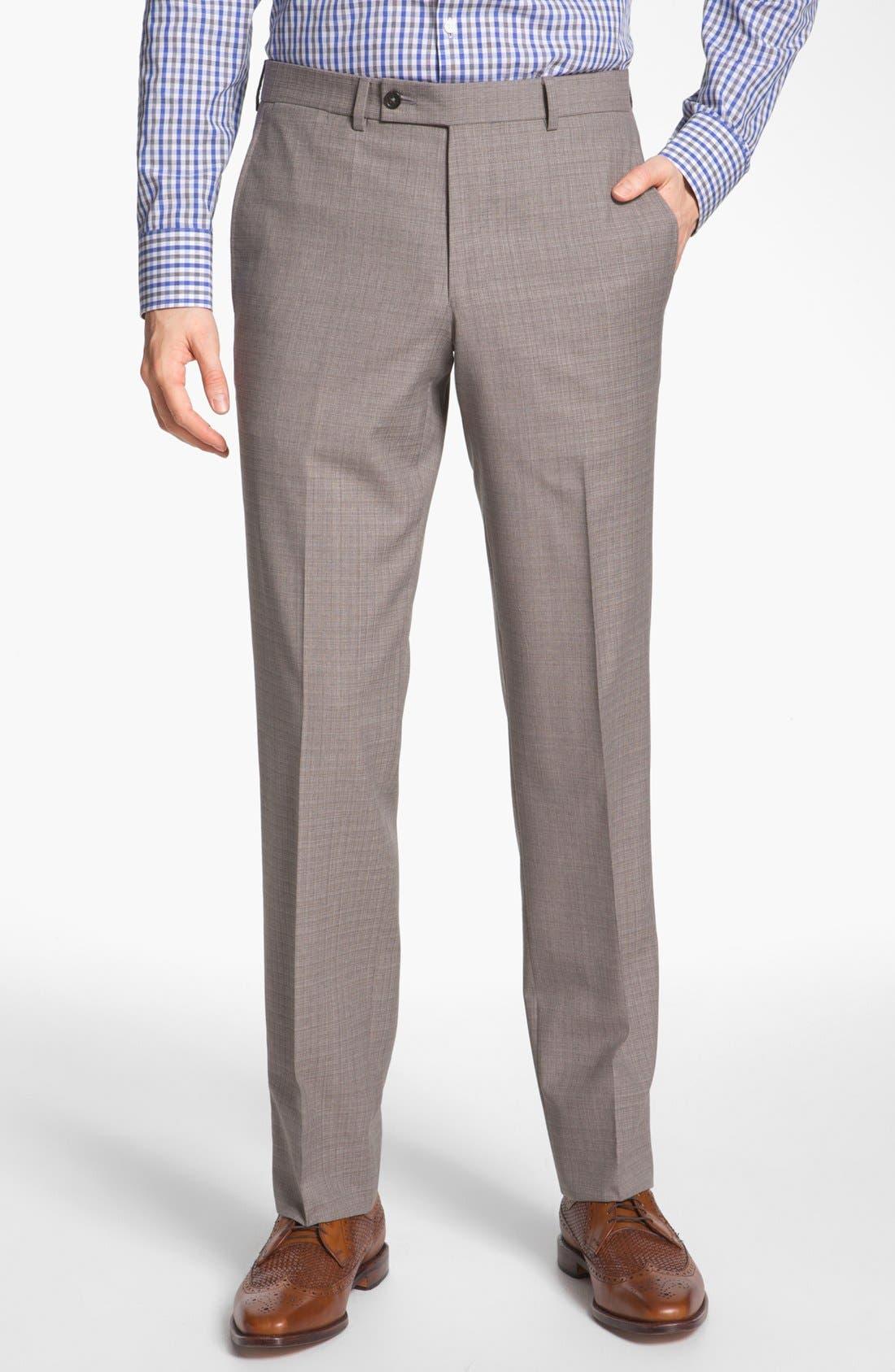 Alternate Image 4  - Ted Baker London Trim Fit Wool Suit