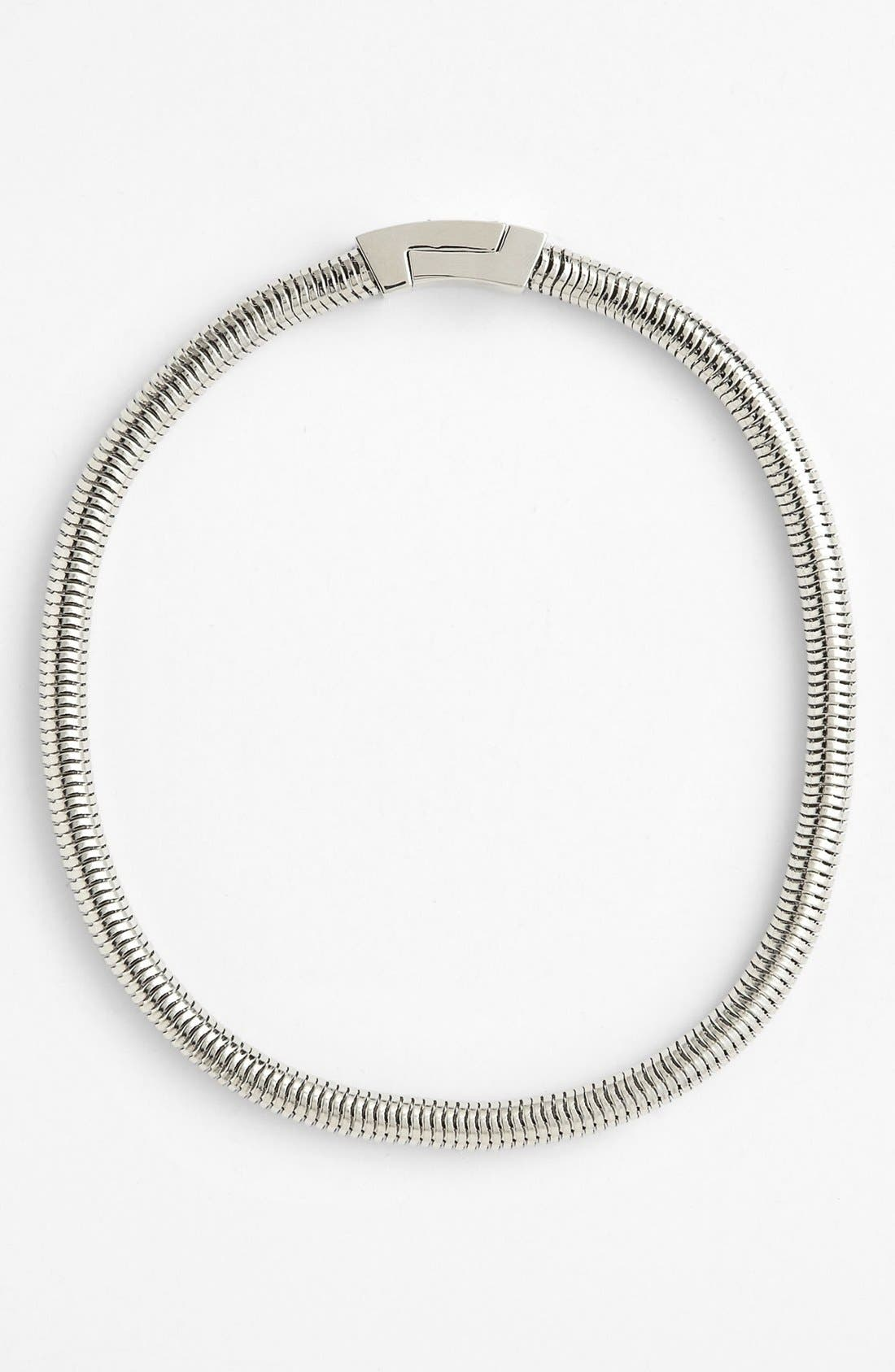 Alternate Image 2  - Vince Camuto Snake Chain Necklace