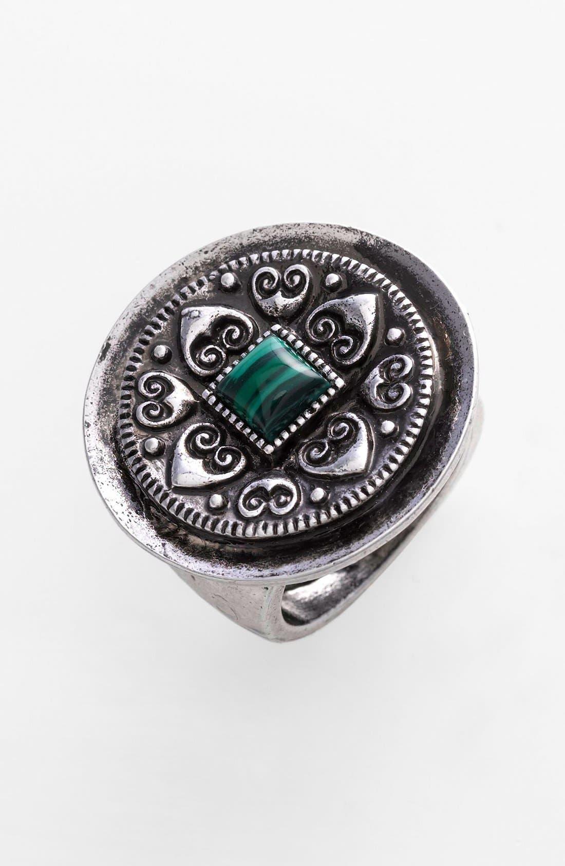 Main Image - Spring Street Square Stone Ring