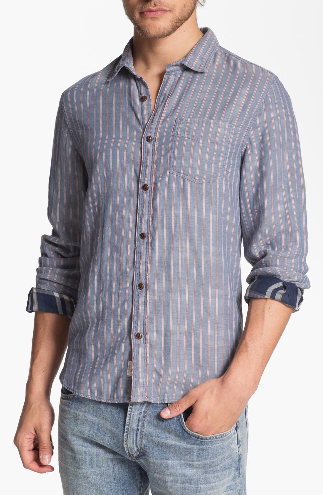 Alternate Image 1 Selected - Woolrich'William' Woven Shirt