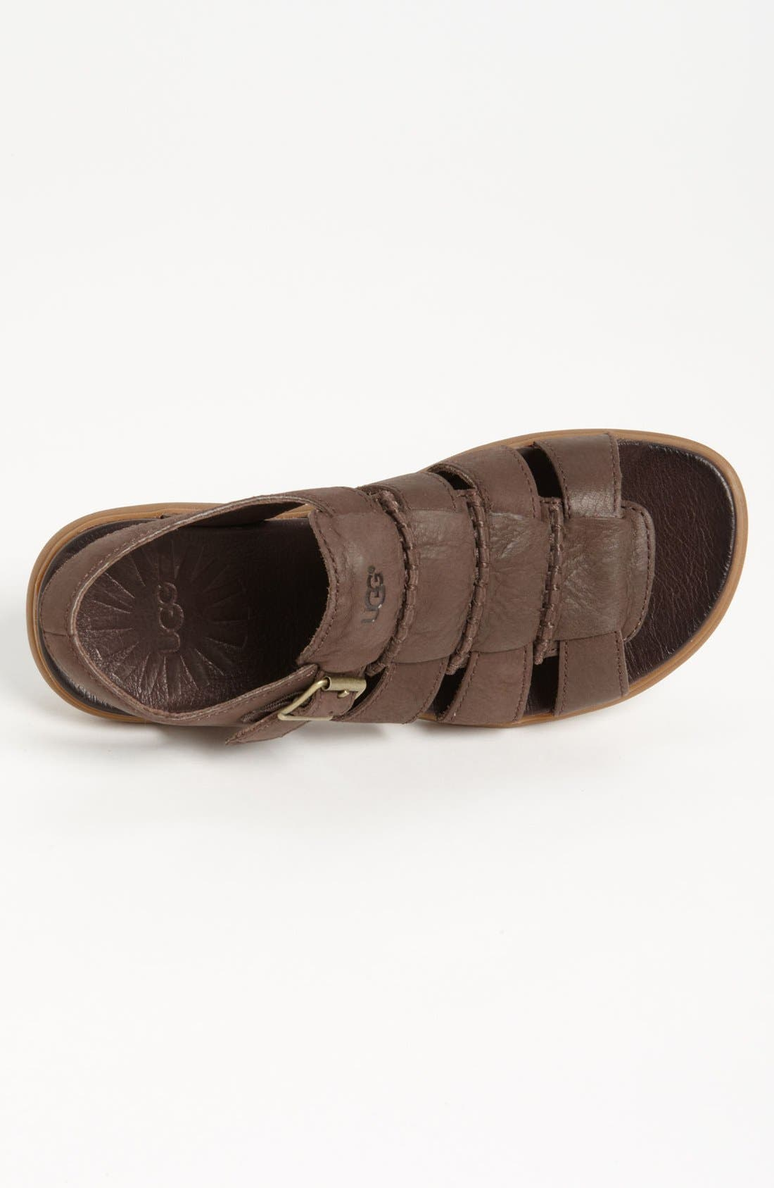 Alternate Image 3  - UGG® Australia 'Roitman' Sandal (Men)