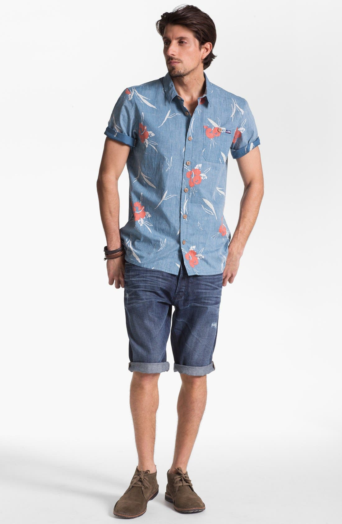 Alternate Image 4  - Jack O'Neill 'Sea Salt' Short Sleeve Sport Shirt