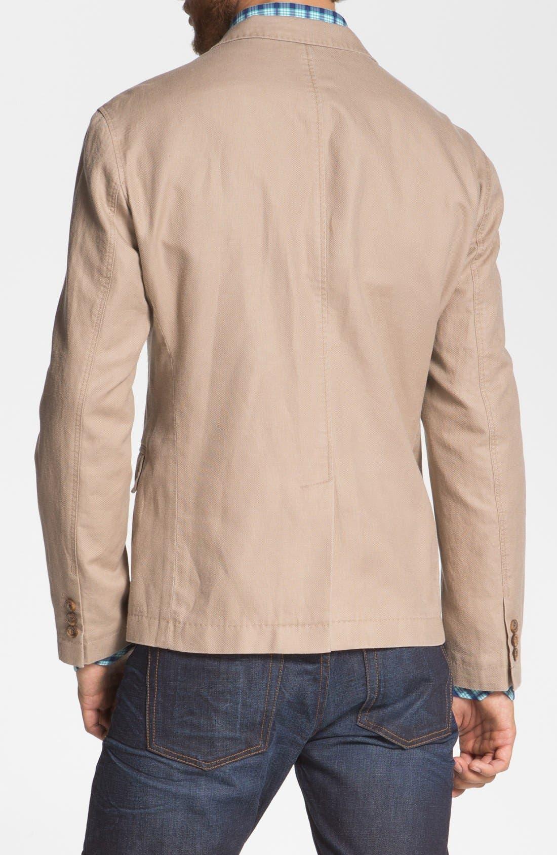 Alternate Image 2  - BOSS HUGO BOSS 'Maldon' Linen Blend Sportcoat