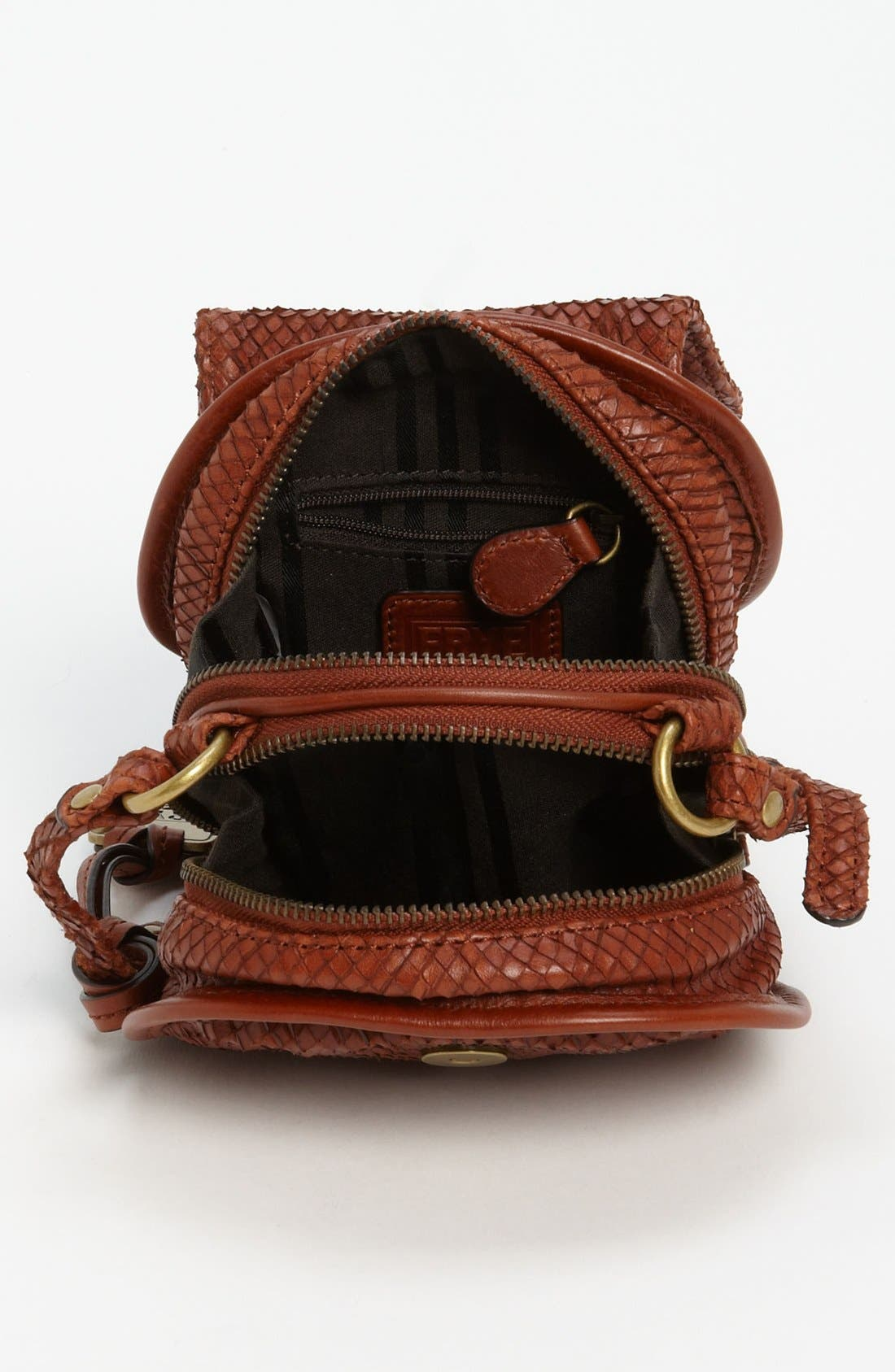 Alternate Image 3  - Frye Snake Texture Crossbody Bag