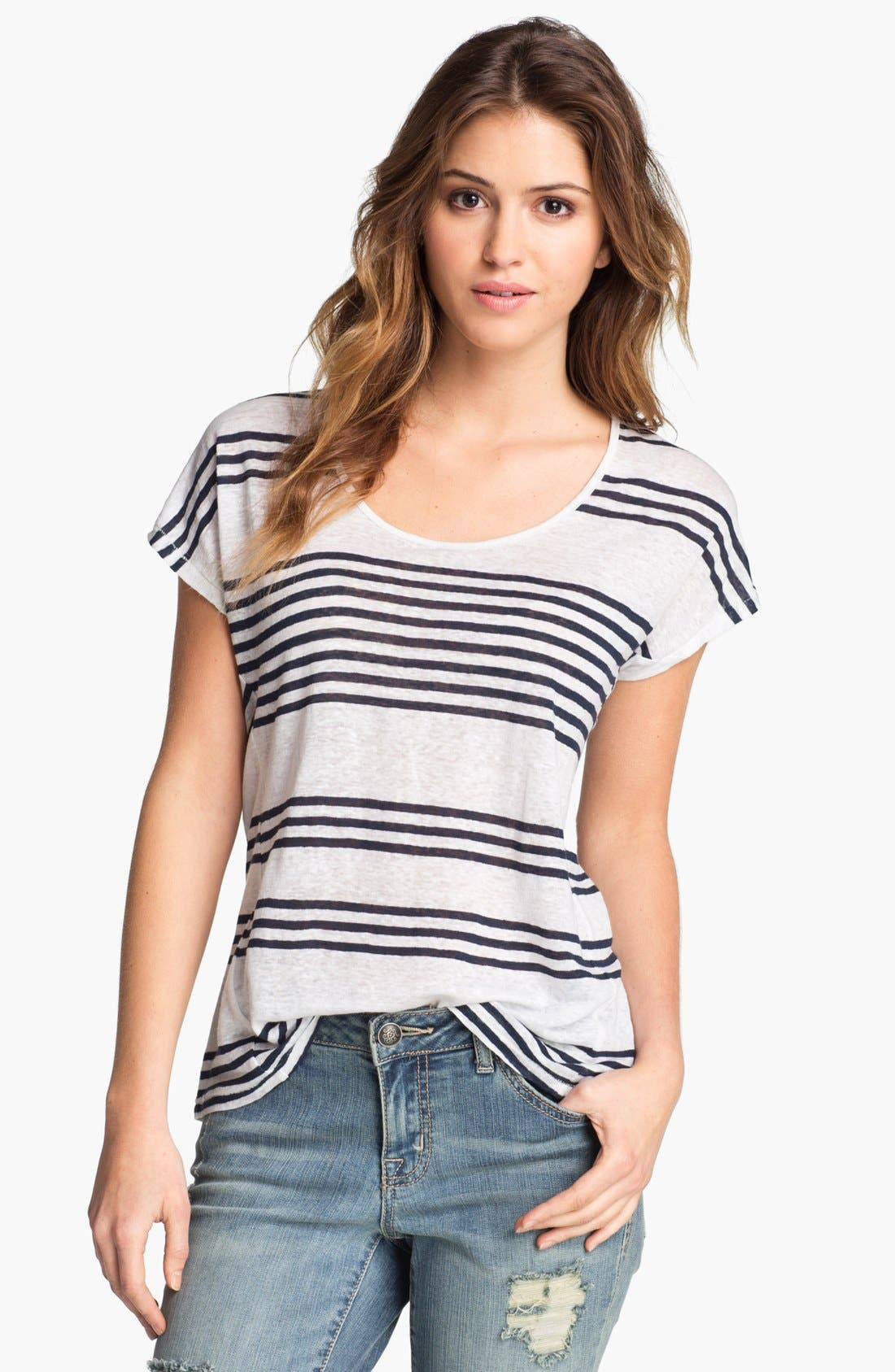 Alternate Image 1 Selected - Lucky Brand 'Arianna' Stripe Top
