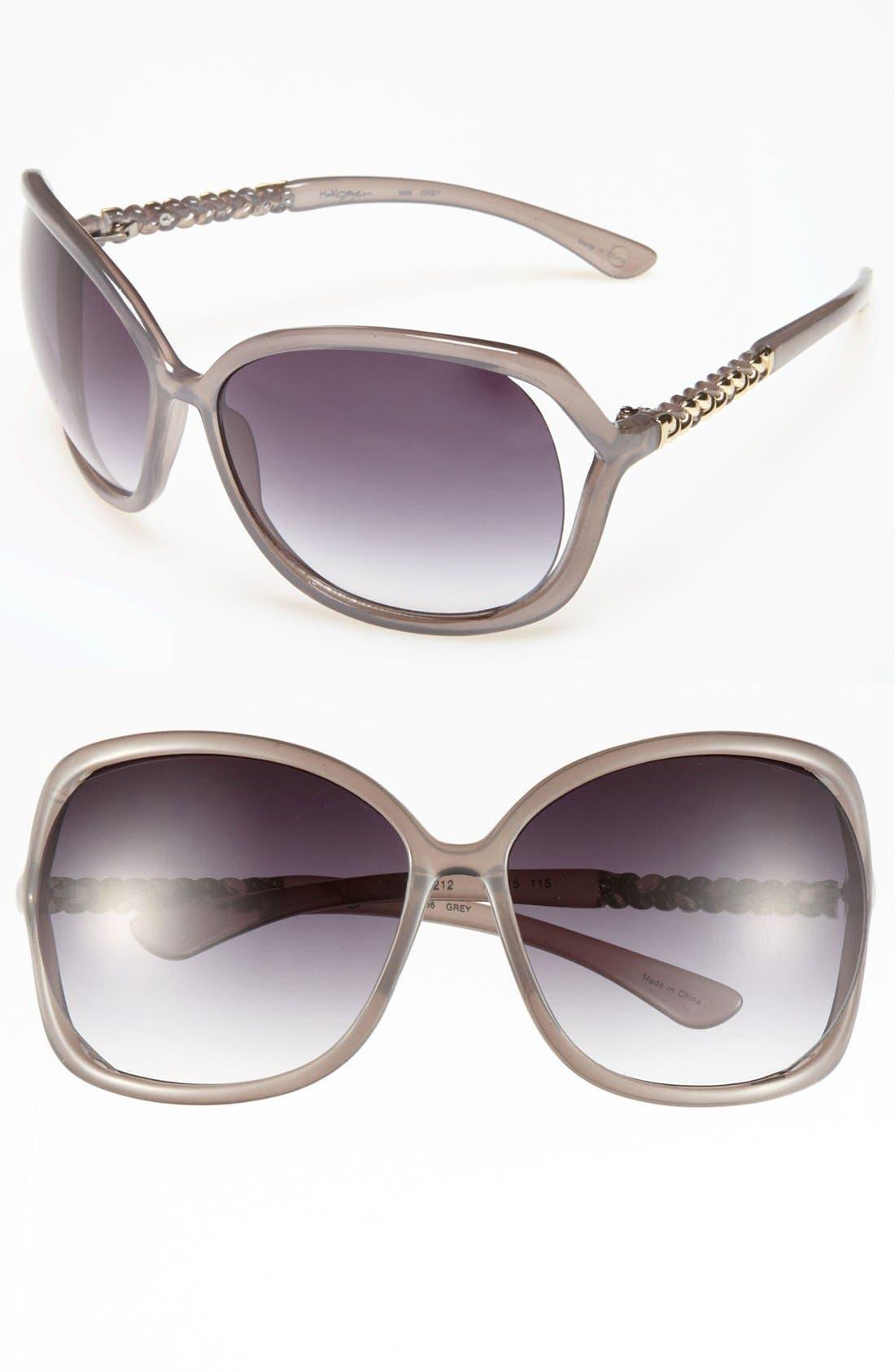 Main Image - Halogen 60mm Cutout Sunglasses
