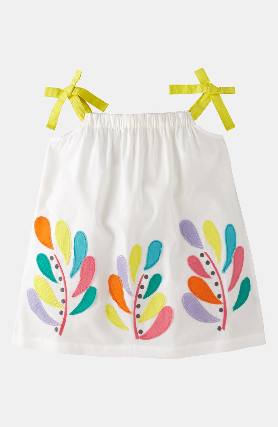 Main Image - Mini Boden 'Appliqué - Color Pop' Top (Little Girls & Big Girls)