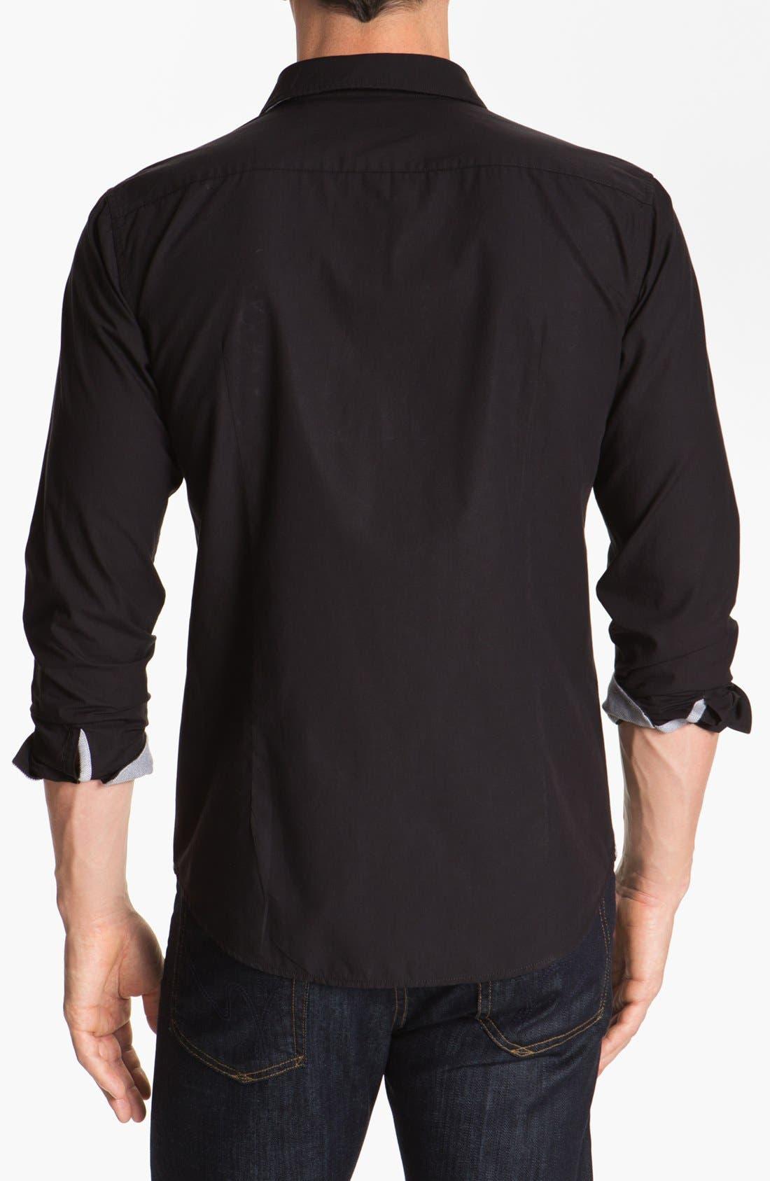 Alternate Image 2  - BOSS HUGO BOSS 'Pancho' Slim Fit Sport Shirt