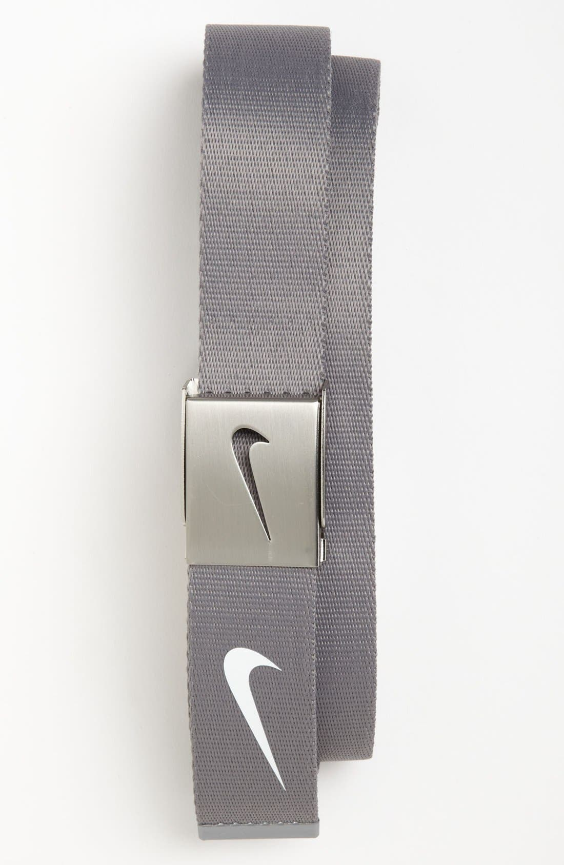 Alternate Image 1 Selected - Nike 'Tech Essentials' Web Belt (3-Pack)