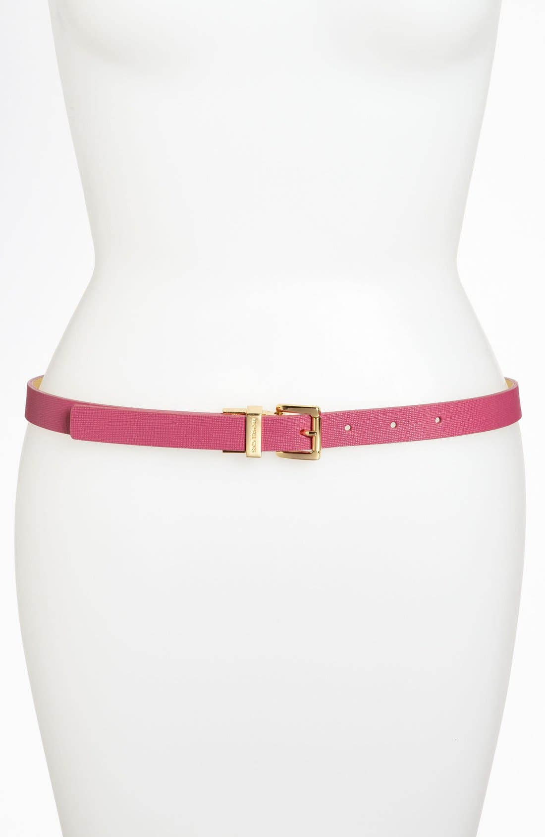 Alternate Image 1 Selected - MICHAEL Michael Kors Reversible Belt
