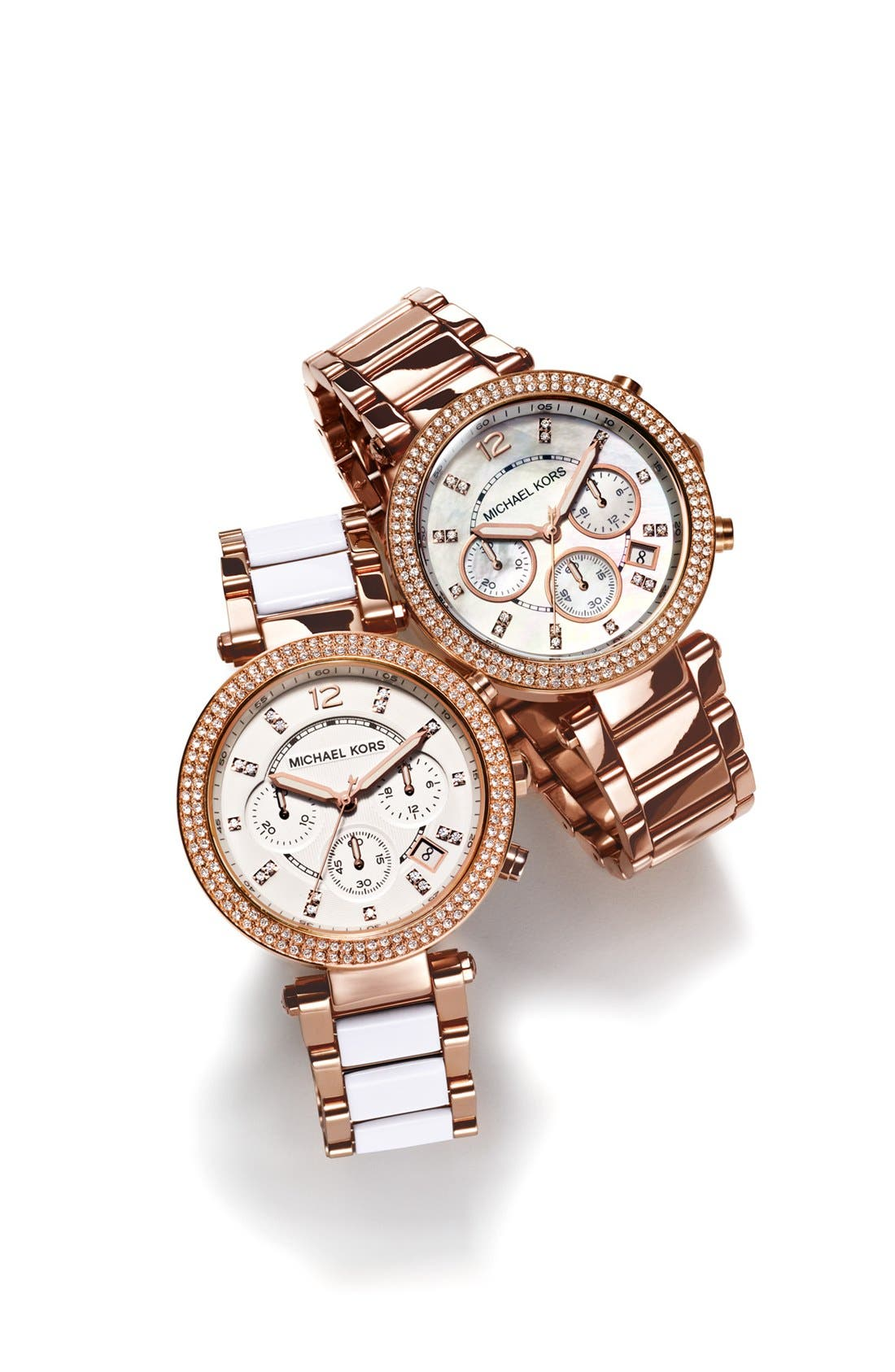 Alternate Image 3  - Michael Kors 'Parker' Chronograph Watch, 39mm