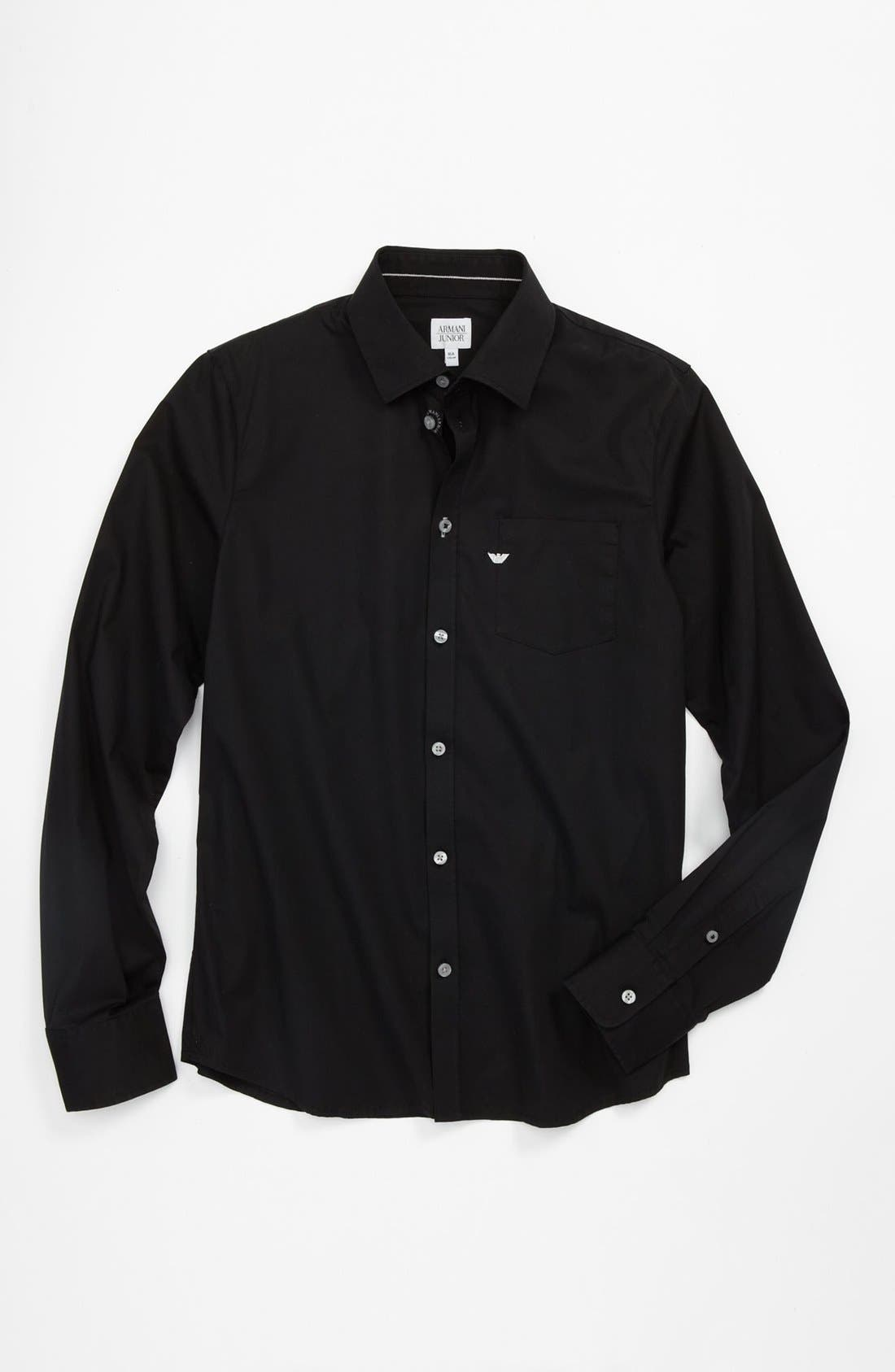 Alternate Image 1 Selected - Armani Junior Shirt (Big Boys)