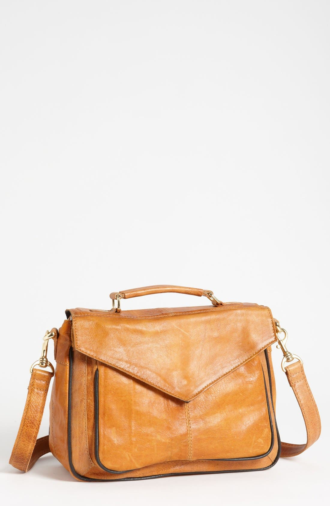 Main Image - Topshop '70s' Leather Satchel