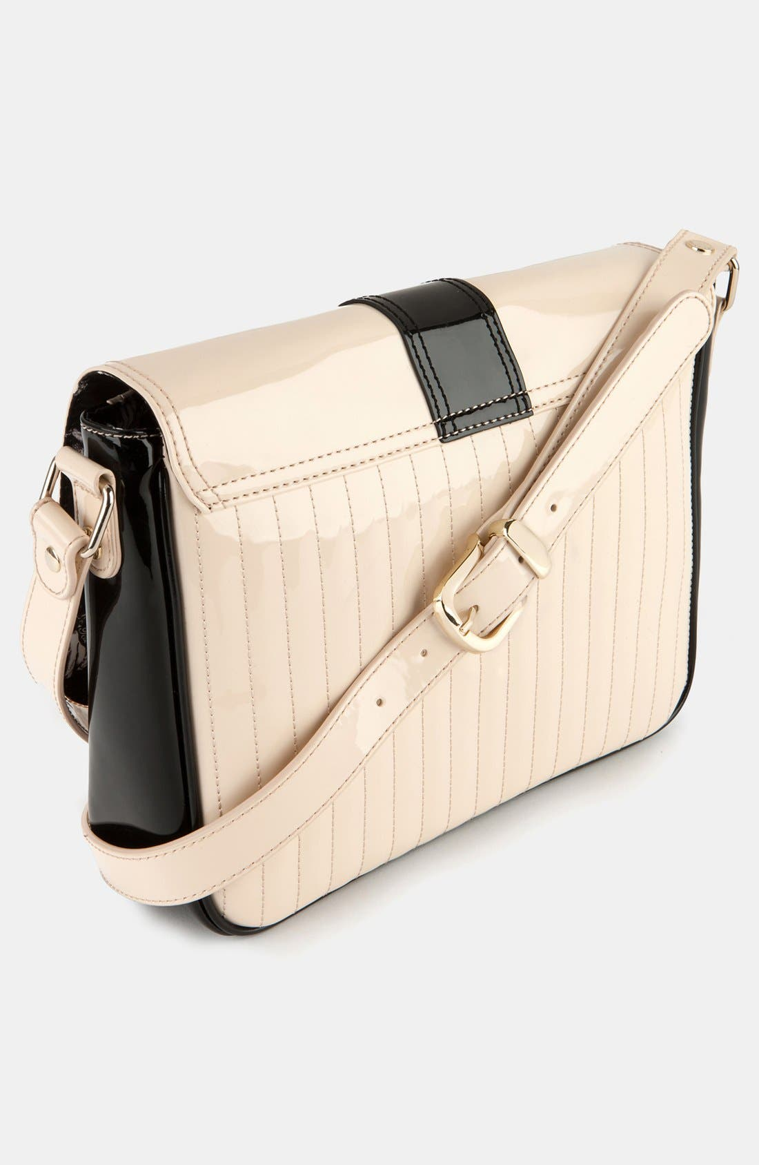 Alternate Image 2  - Ted Baker London 'Enamel - Large Colorblock' Quilted Faux Leather Crossbody Bag