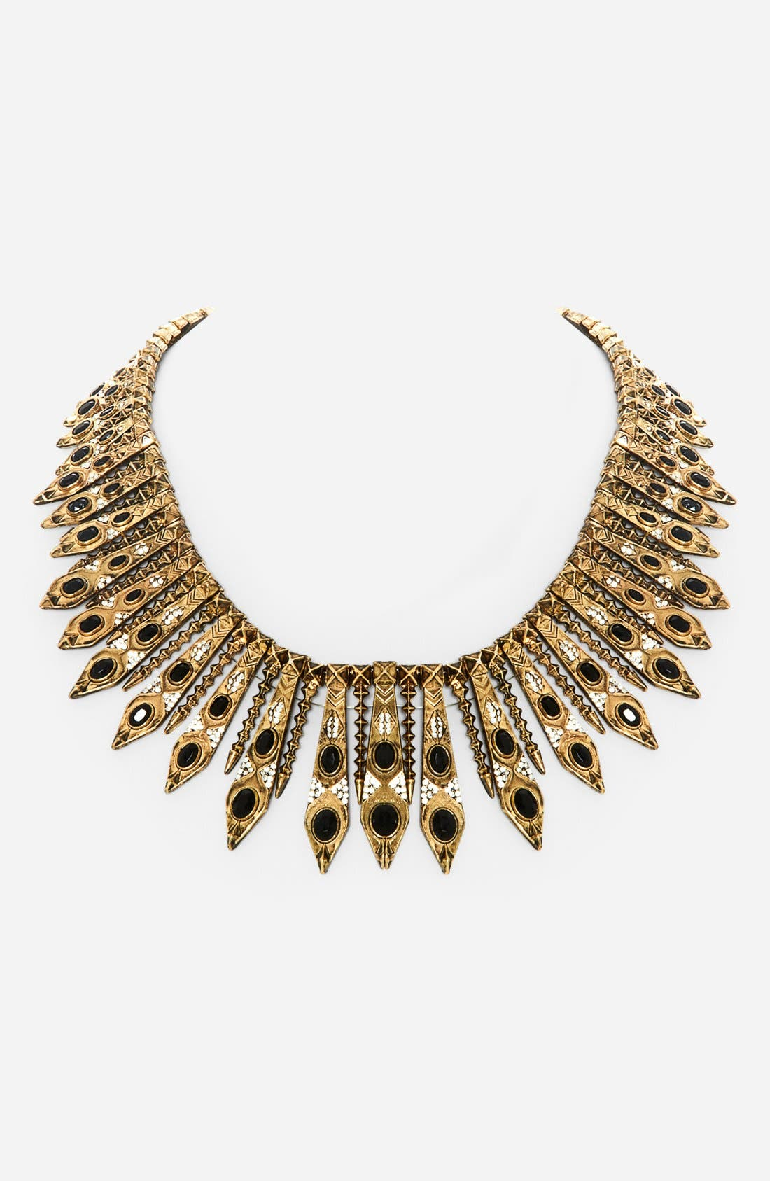 Main Image - House of Harlow 1960 'Gypsy Feather' Collar Necklace