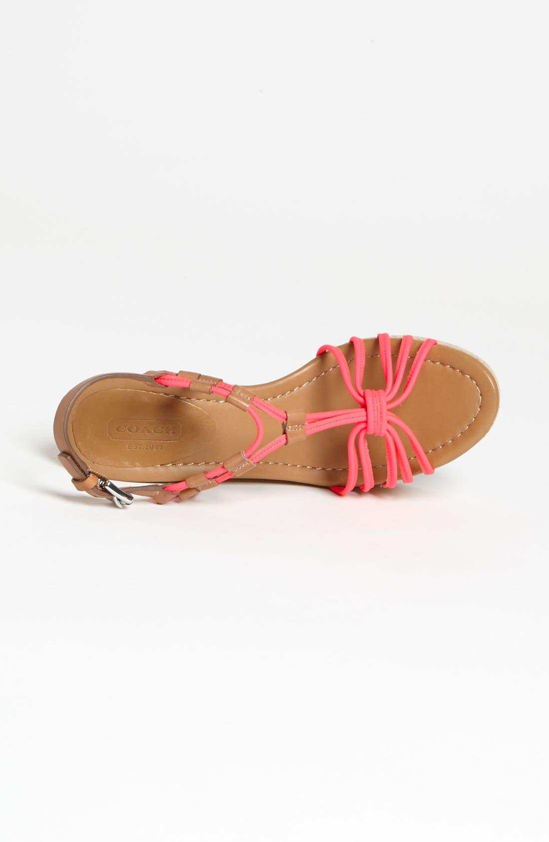 Alternate Image 3  - COACH 'Georgianna' Sandal