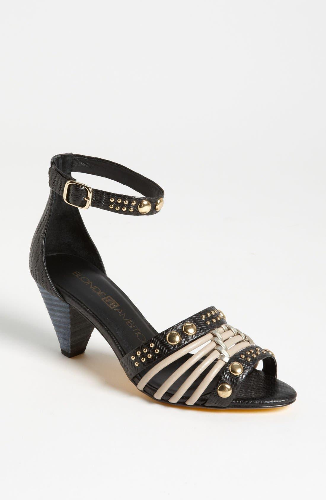 Alternate Image 1 Selected - Blonde Ambition 'Sobra' Sandal