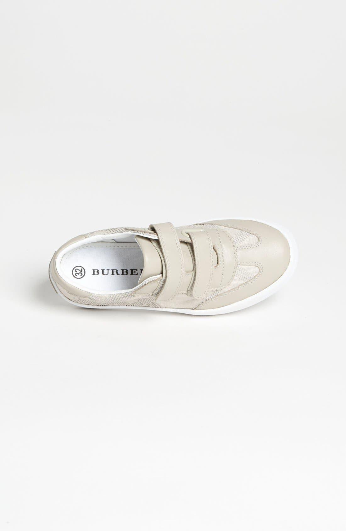 Alternate Image 3  - Burberry 'Bruno' Sneaker (Walker, Toddler, Little Kid & Big Kid)