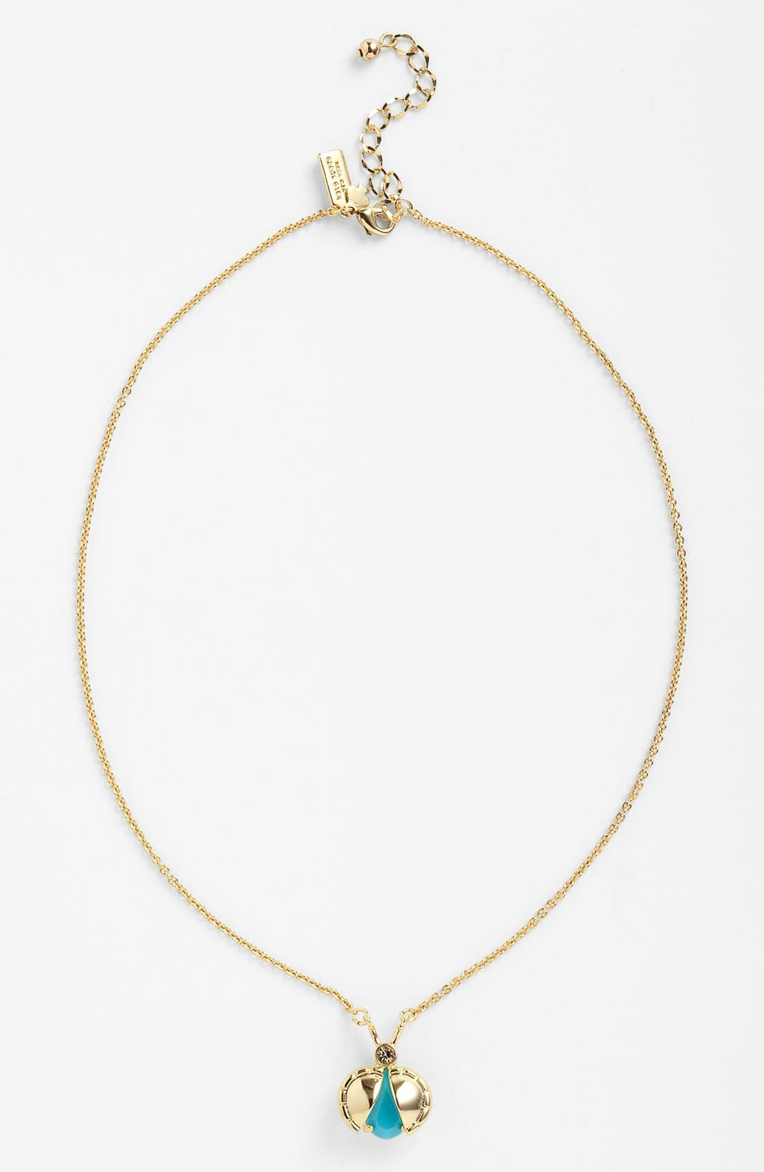 Main Image - kate spade new york 'unwanted visitors' pendant necklace