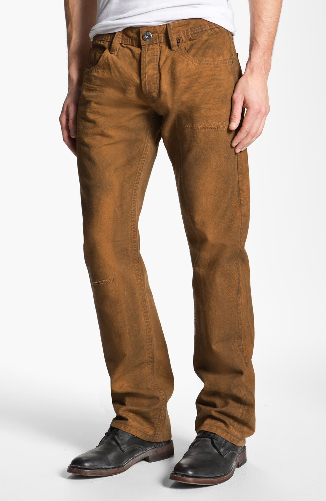 Alternate Image 2  - Cult of Individuality 'Hagen' Relaxed Straight Leg Jeans (Molasses)