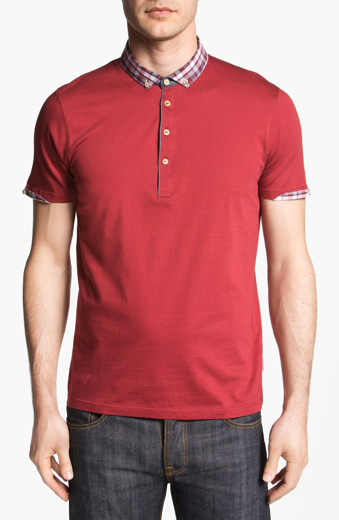 Alternate Image 1 Selected - Ted Baker London 'Thebest' Polo