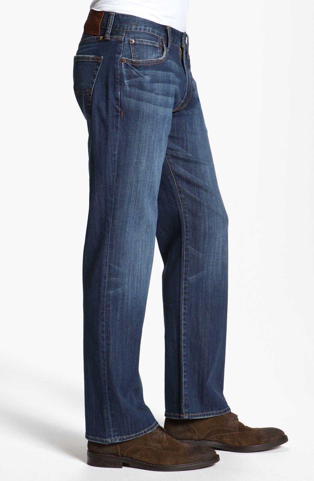 Alternate Image 3  - Lucky Brand '361 Vintage' Straight leg Jeans (Erwin)