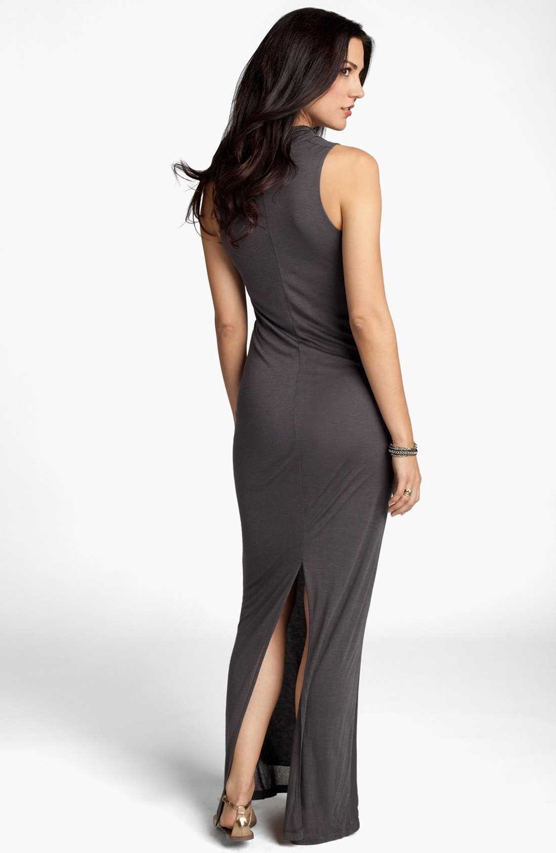 Alternate Image 2  - Ingrid & Isabel® 'Athena' Maternity Maxi Dress