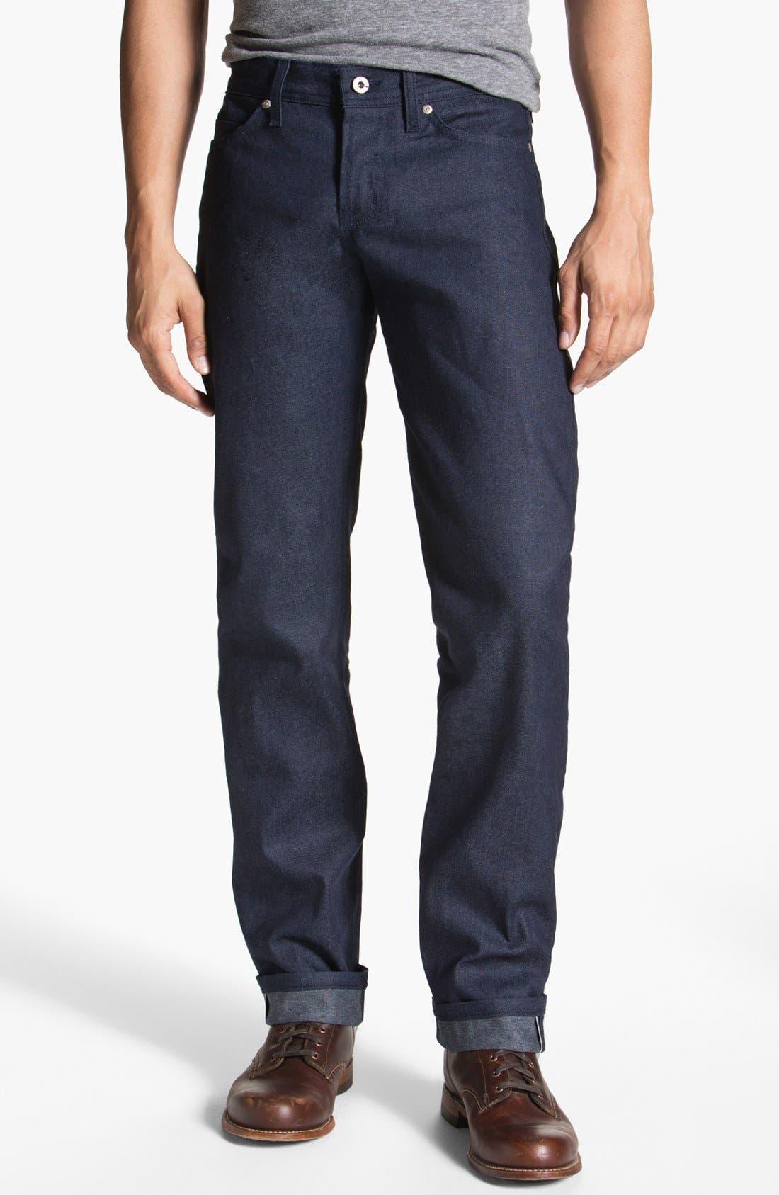 Alternate Image 2  - Naked & Famous Denim 'Weird Guy' Slim Tapered Leg Selvedge Jeans