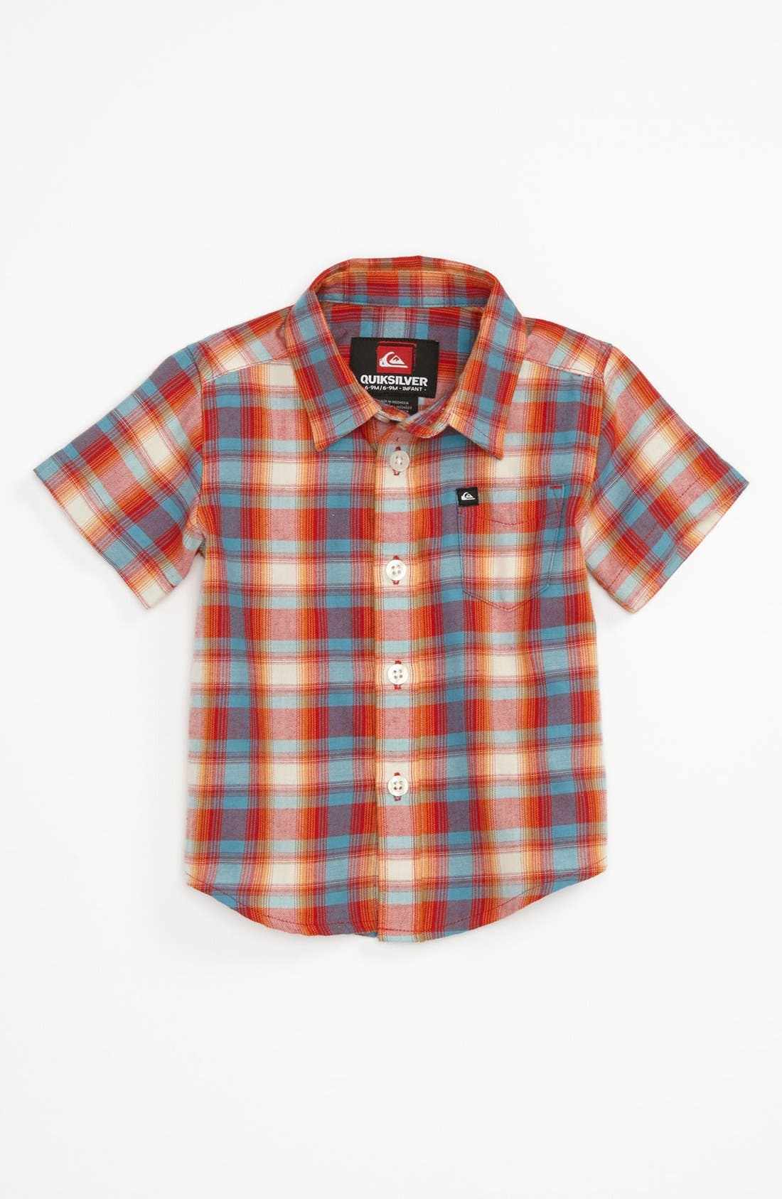 Alternate Image 1 Selected - Quiksilver 'Flash Surf' Woven Shirt (Baby)