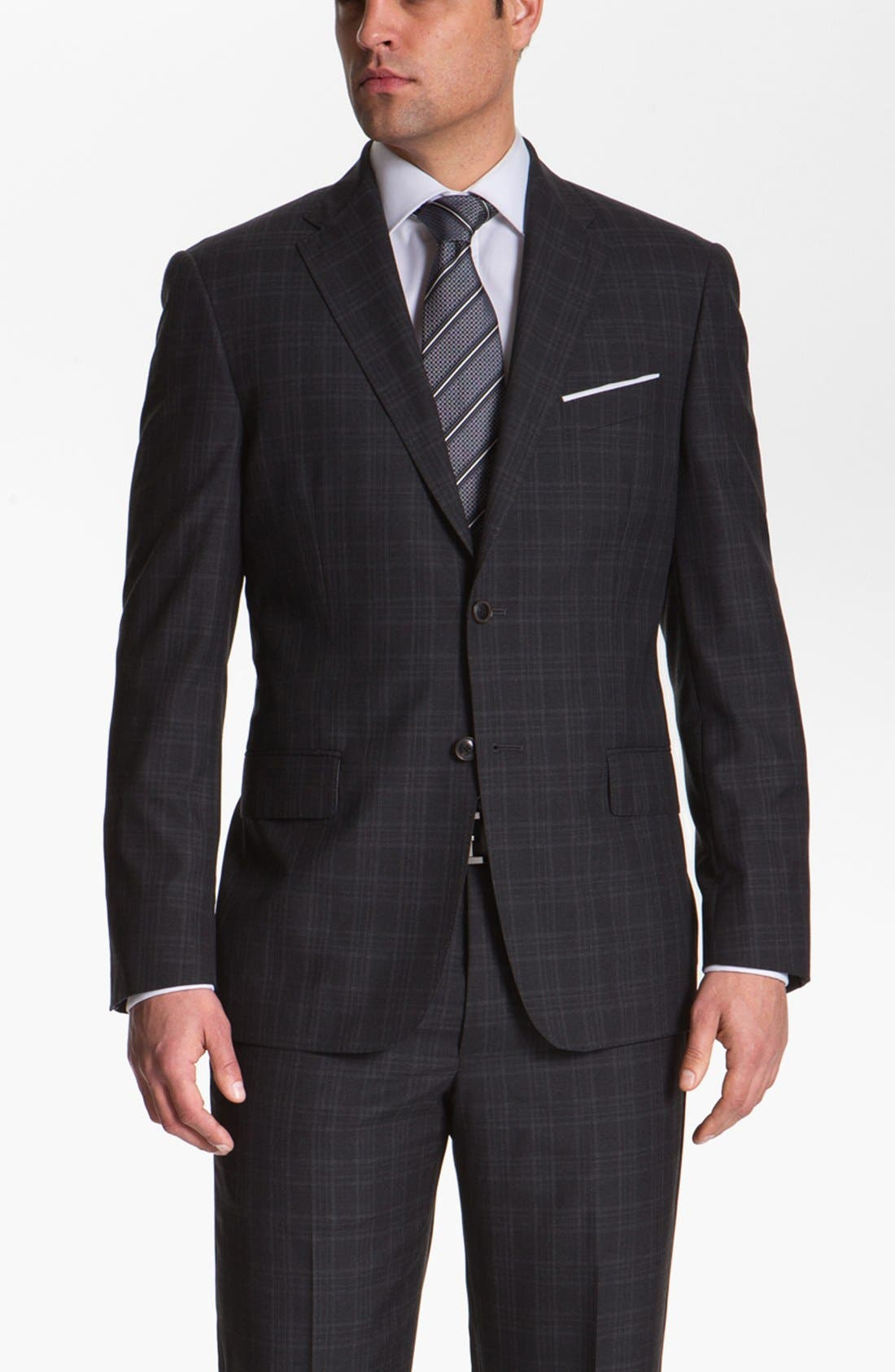 Alternate Image 4  - Joseph Abboud 'Platinum' Plaid Wool Suit