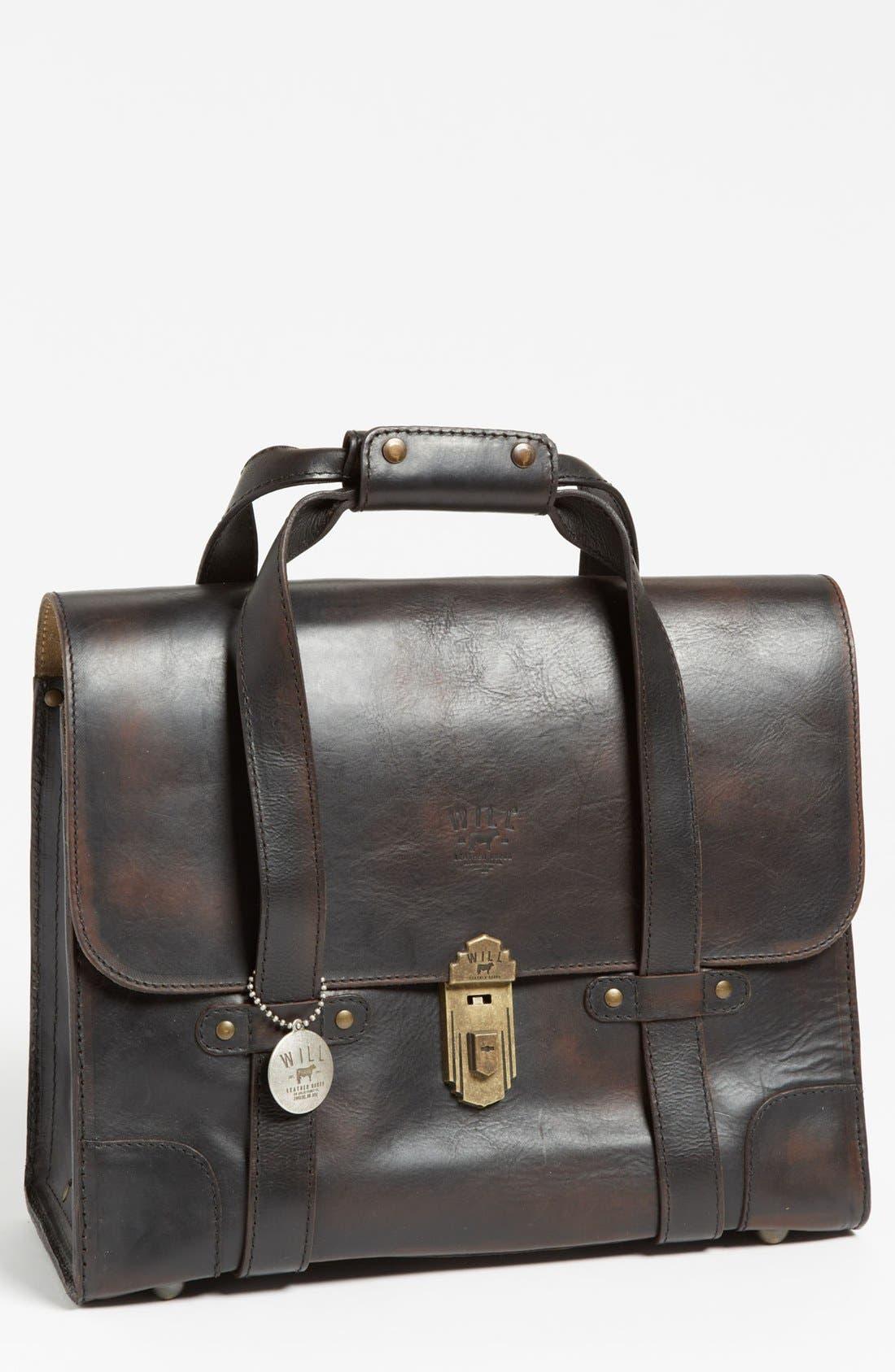 Alternate Image 1 Selected - Will Leather Goods 'Everett' Satchel