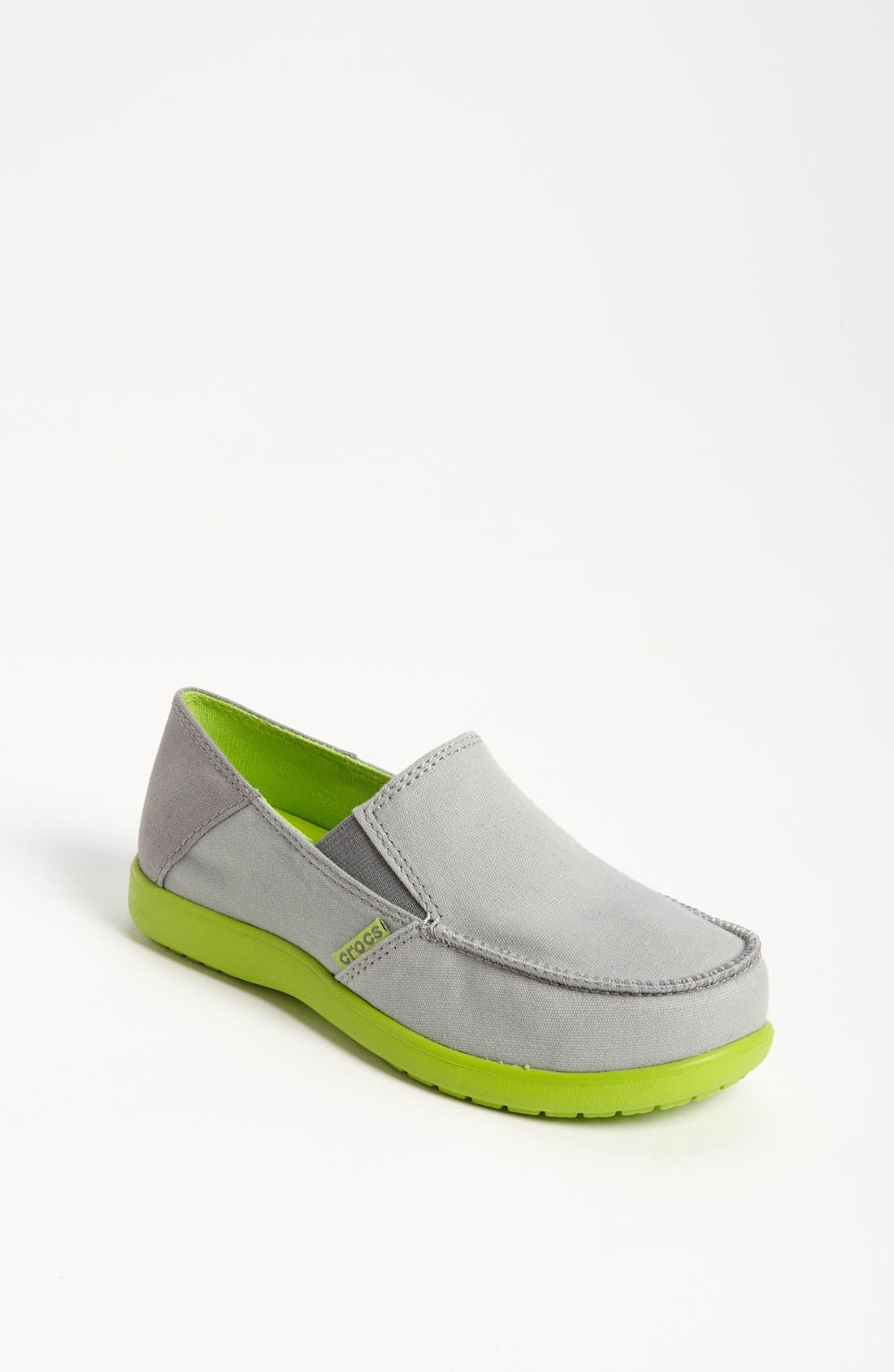 Alternate Image 1 Selected - CROCS™ 'Santa Cruz' Loafer (Little Kid & Big Kid)