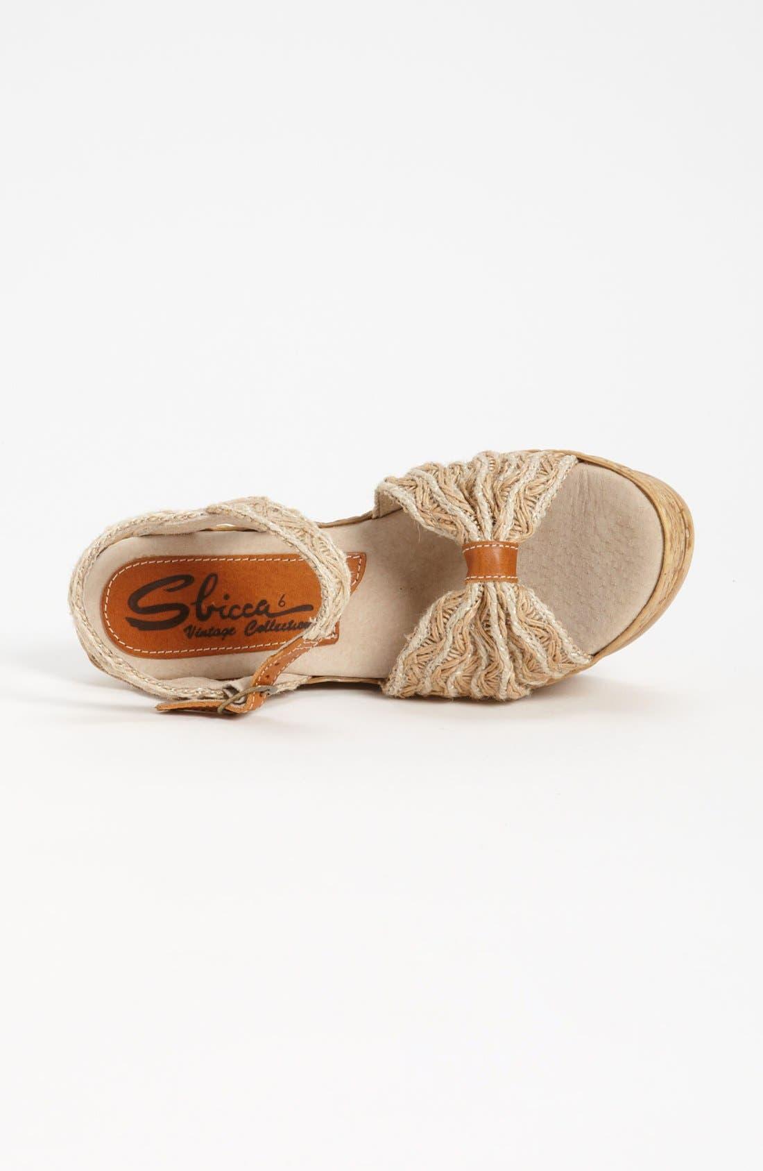 Alternate Image 3  - Sbicca 'Whimsical' Wedge Sandal