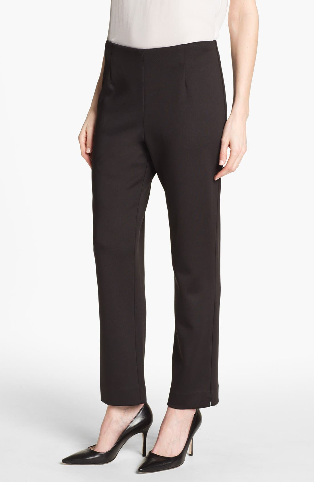Main Image - Alex Evenings Slim Ponte Pants