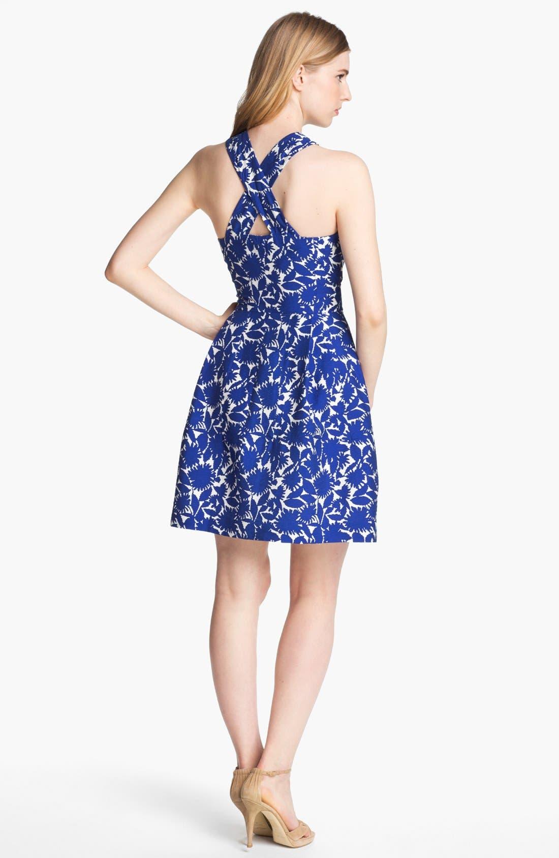 Alternate Image 2  - Mcginn 'Serafina' Print Halter Dress