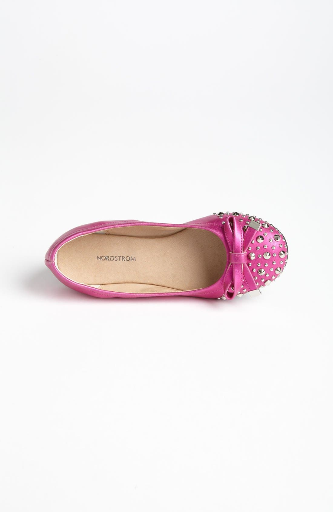 Alternate Image 3  - NORDSTROM CANDID STUDDED BOW FLAT