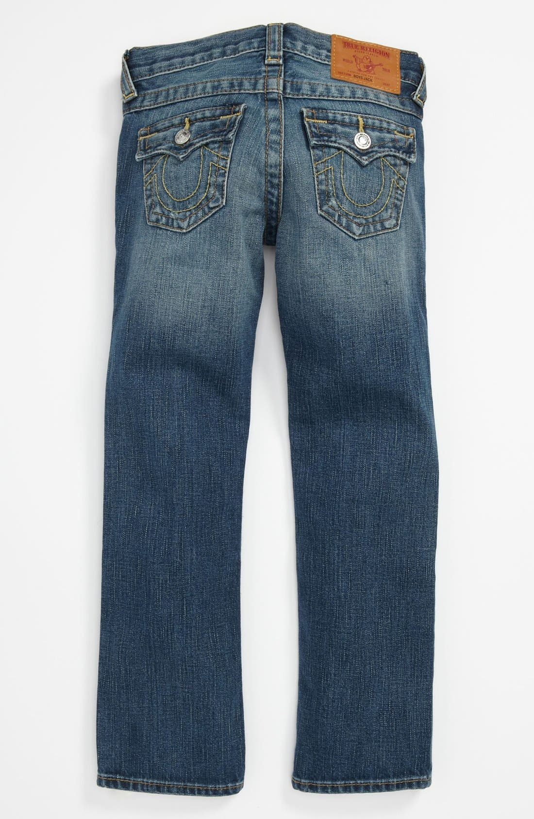 Main Image - True Religion Brand Jeans 'Jack' Relaxed Straight Leg Jeans (Big Boys)