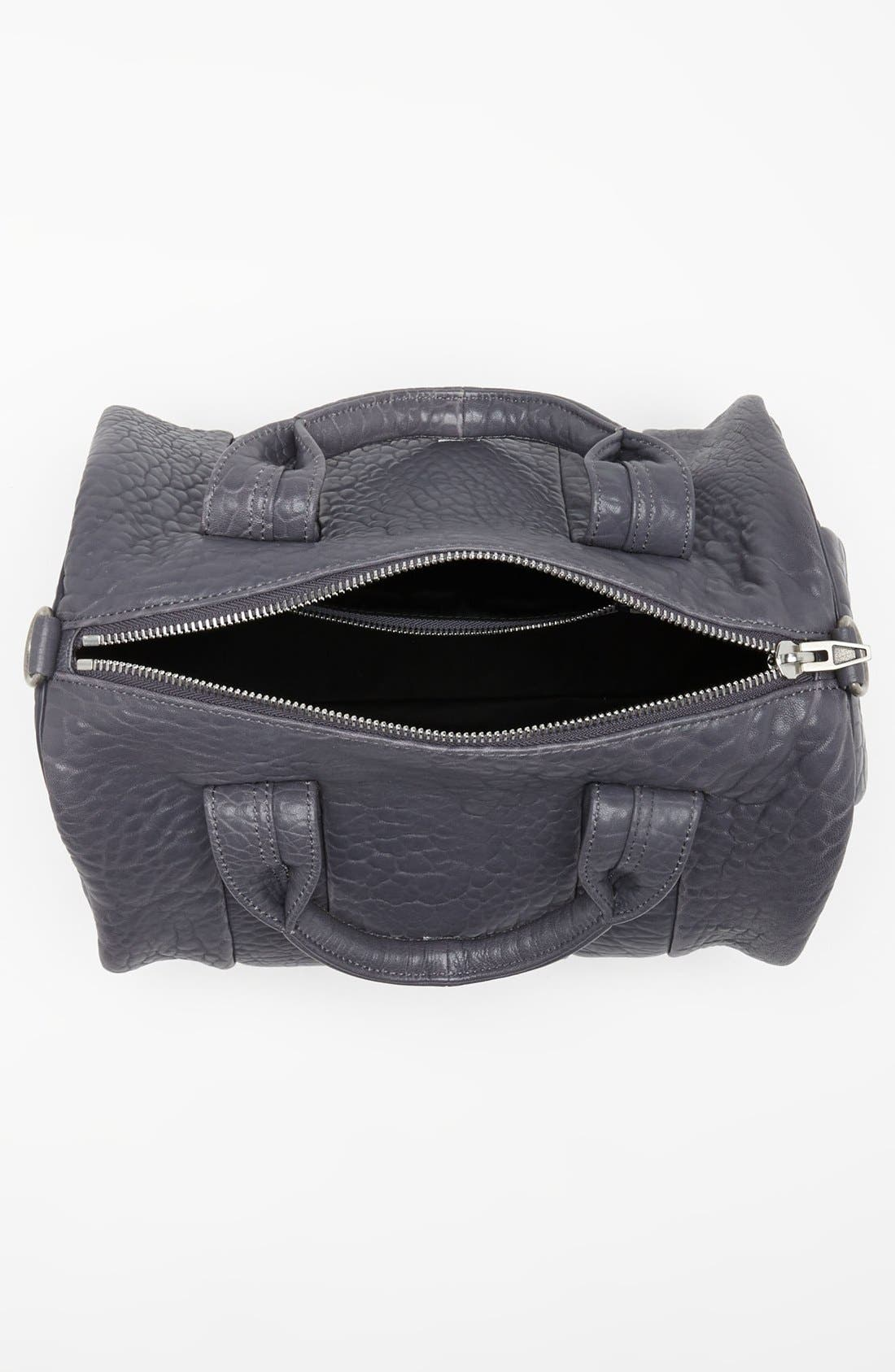 Alternate Image 3  - Alexander Wang 'Rocco - Antique Silver' Leather Satchel